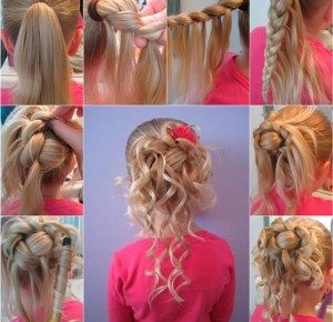 How-to-Make-Cute-Hairstyle-for-Girls-DIY-Tutorial-300x290