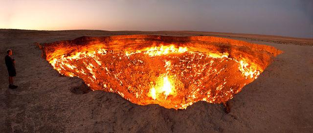 La porte des enfers, Derweze, Turkmenistan