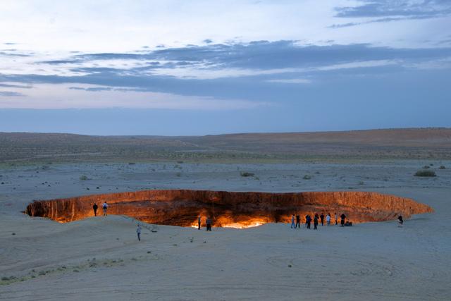 La porte des enfers, Derweze, Turkmenistan2