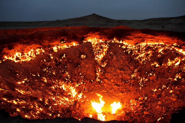 La porte des enfers, Derweze, Turkmenistan3