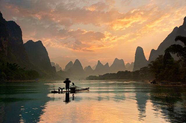 La rivière Li, Chine