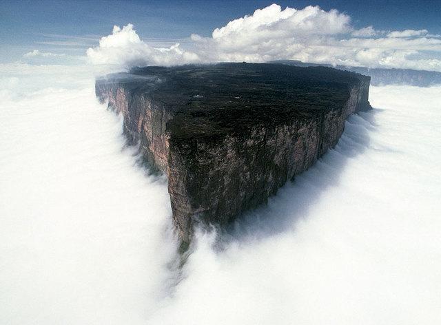 Mont Roraima, Venezuela Brésil Guyanne