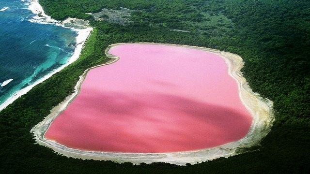 lac Hilier, en Australie