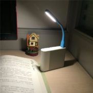 USB LED Light Bendable Reading Lamp