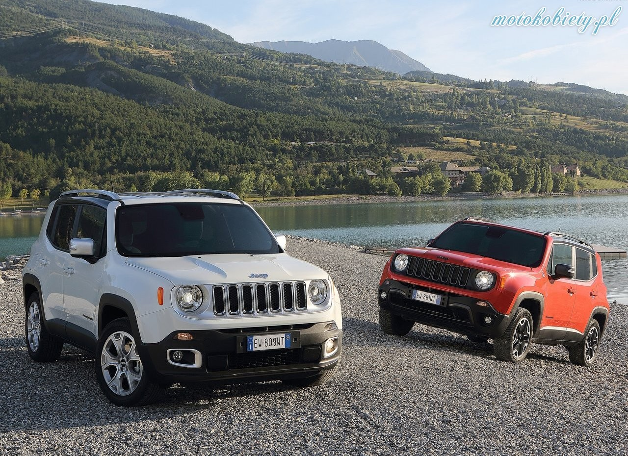 MY17 Jeep Renegade Sport petrol CVT Model