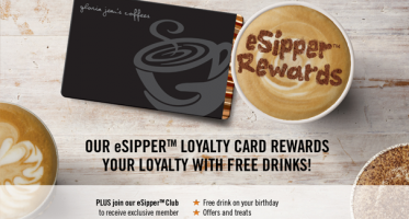 Request a FREE Coffee from Gloria Jean's Coffees