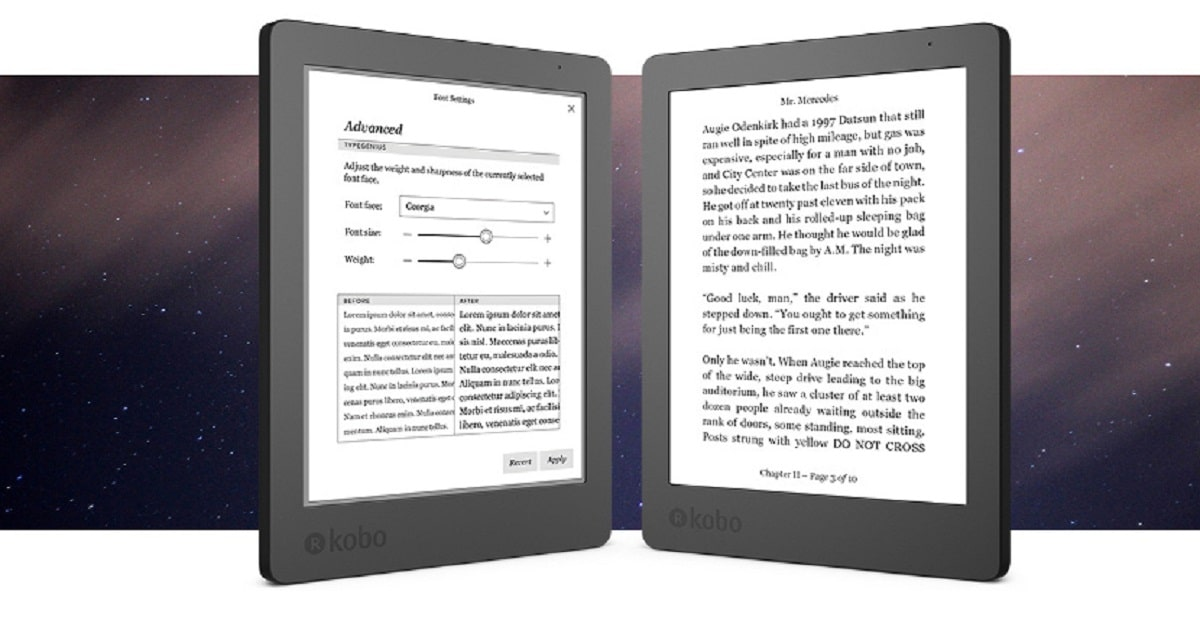 Kobo Aura Edition 2 ebook Reader