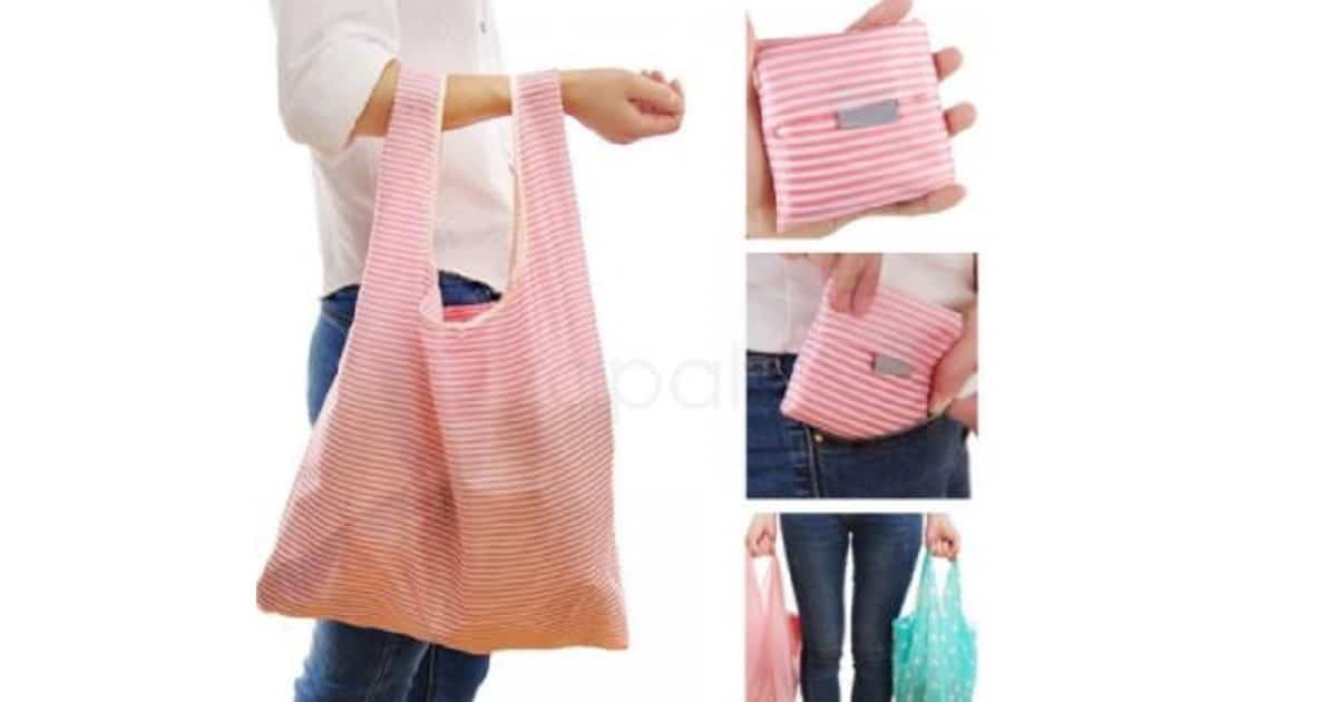 FREE Folding Shopping Bag Tote Bag