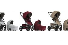 a Jive Platinum Stroller and Bassinet