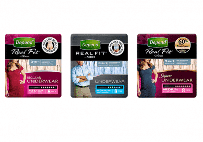Get FREE Depend Protective Underwear Samples