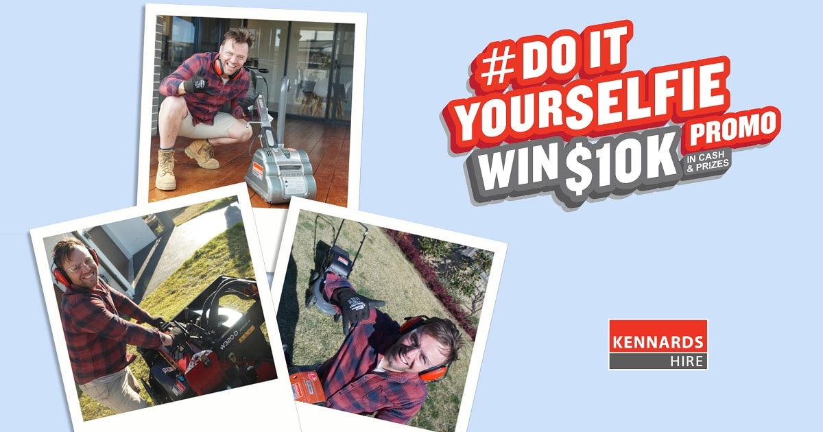 WIN $5,000 Cash & $5,000 of Kennards Equipment Hire