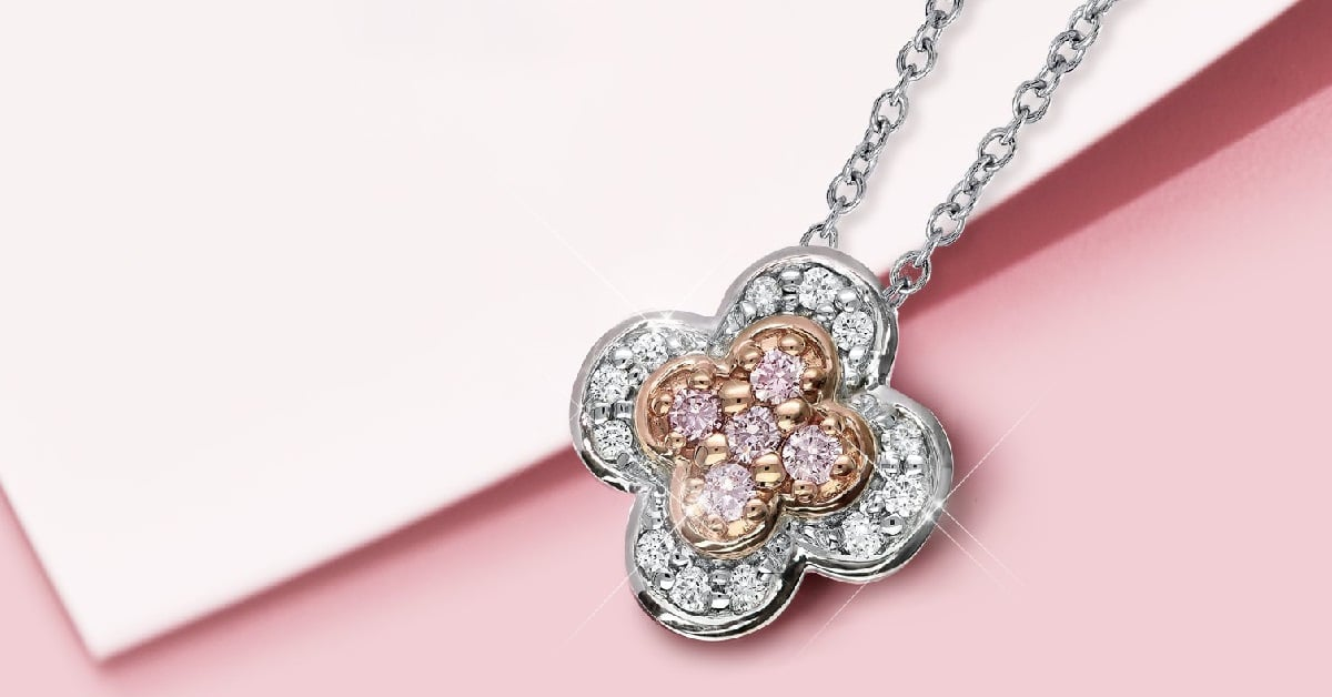 WIN a $2,995 Pink Diamond Pendent