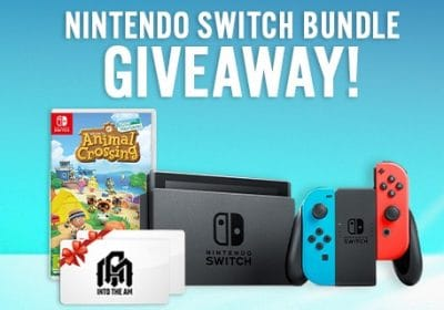 Win A Nintendo Switch Animal Crossing Game Bundle More