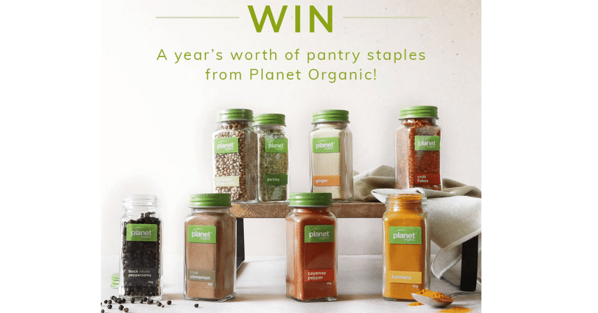 Win a Year's Worth of Pantry Staples from Planet Organic