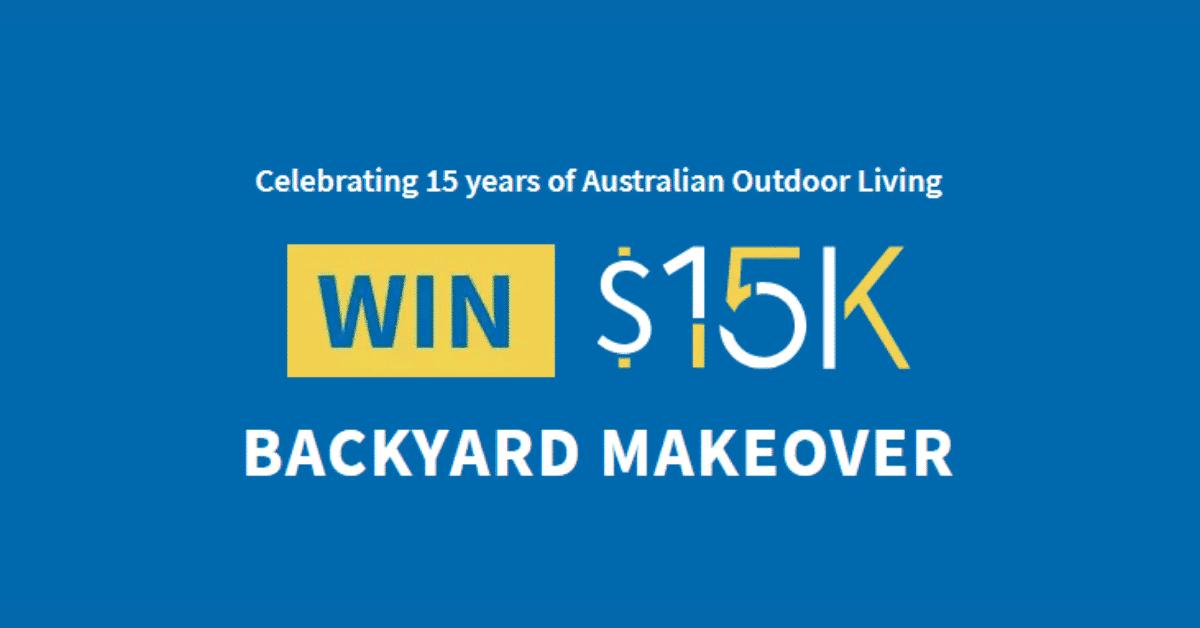 Win a $15K Backyard Makeover • Free Samples Australia