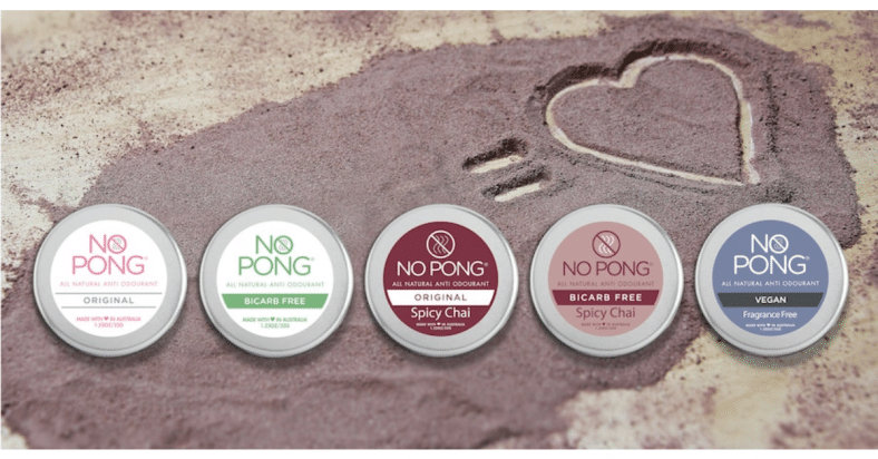Win 1 of 10 Twin Packs of No Pong Natural Anti-odourant