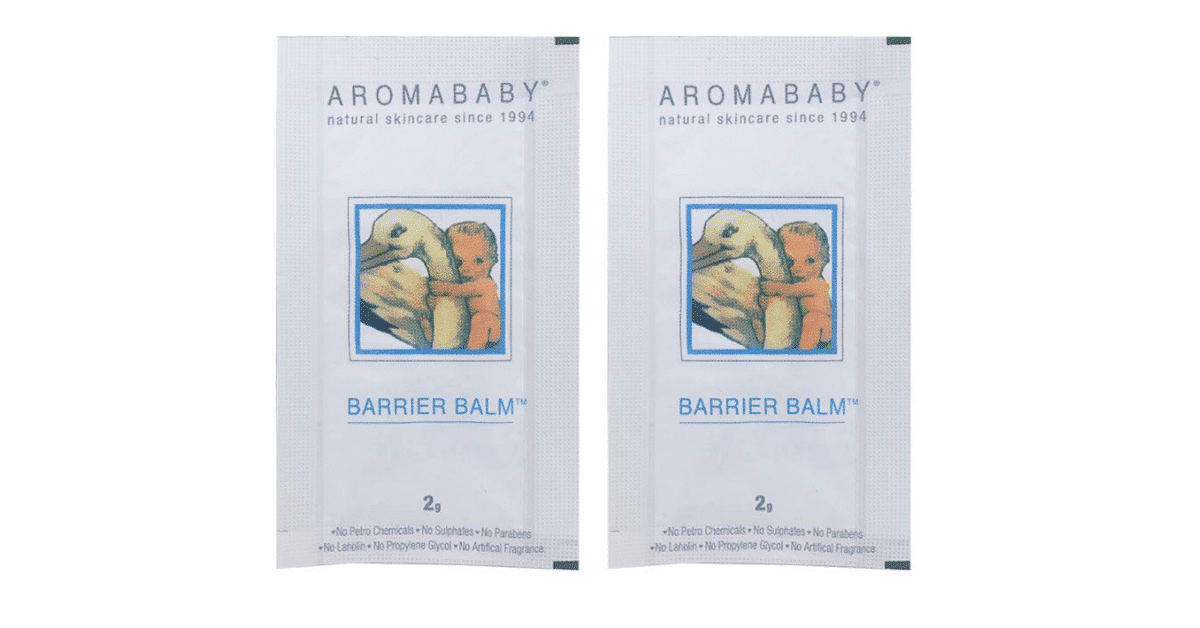 Get your FREE Aroma baby Barrier Balm Sample