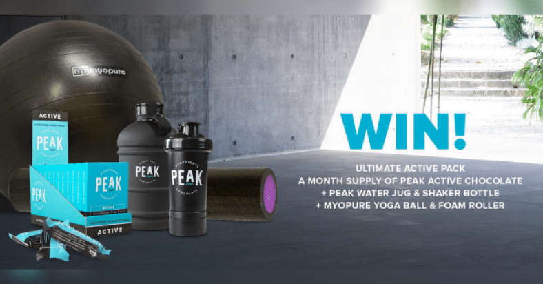 Win a Month Supply of Peak Chocolate