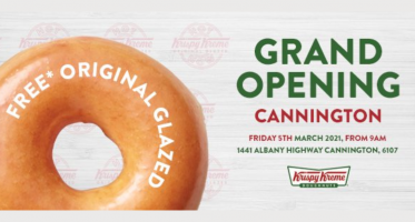 Get your FREE Krispy Kreme Original Glazed Doughnut
