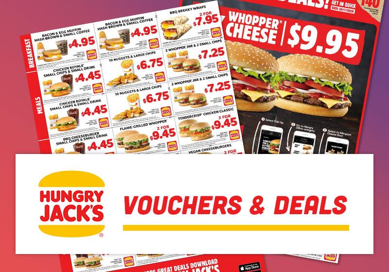 Hungry Jacks Vouchers Deals