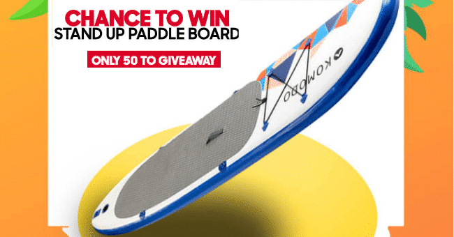 Win 1 of 50 Komodo paddle boards