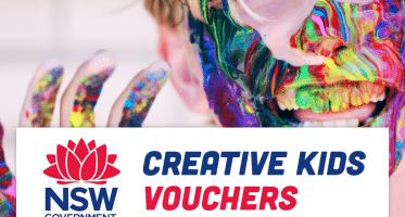 Creative Kids Vouchers