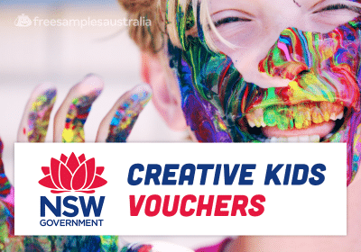 Creative Kids Vouchers
