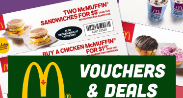 Mcdonals Vouchers Deals