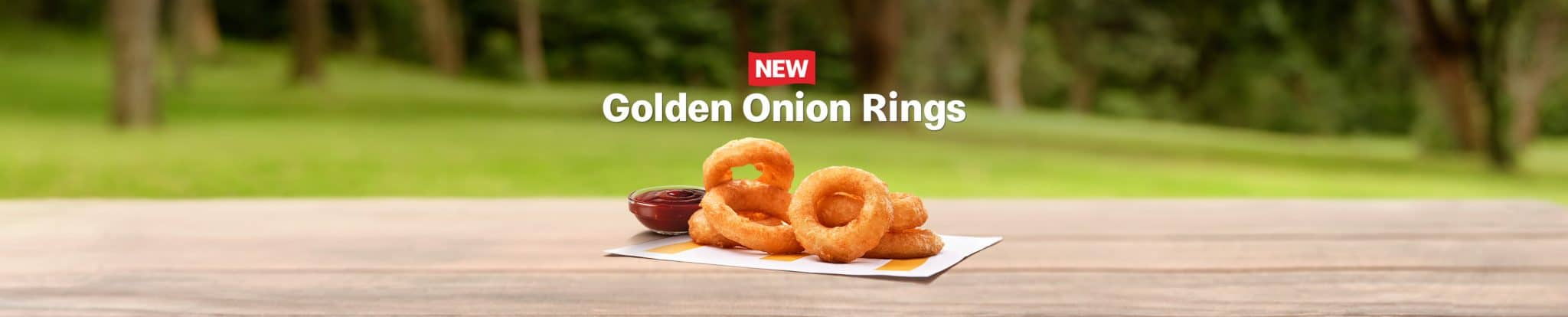 McDonald's Golden Onion Rings