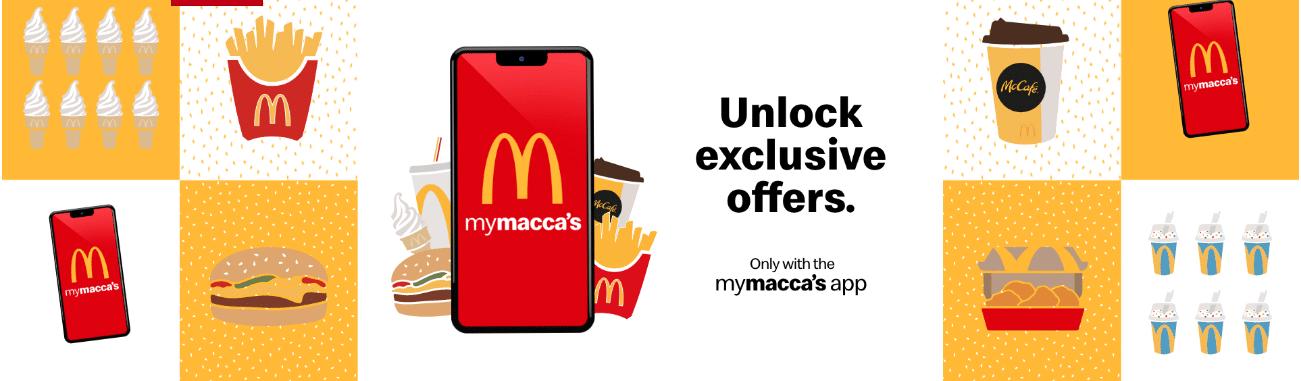 Mcdonalds Vouchers Mymacca's App Deals
