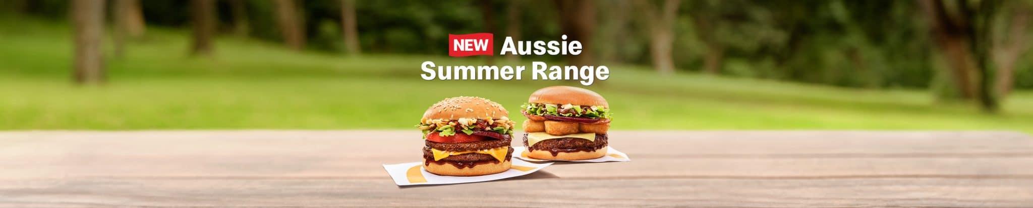 McDonald's Aussie Angus