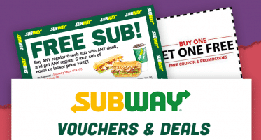 Subway Vouchers Australia