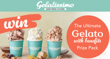 Win a Gelatissimo gift card, Blessed Protein Choc Coconut Tub & more...