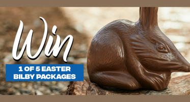 Win 1 of 5 Haigh's exclusive Easter Bilby Chocolate Packages