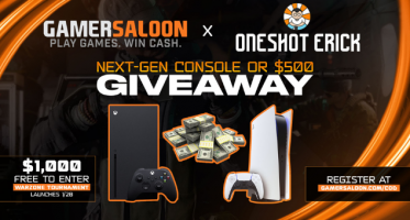 Win a PlayStation 5, an Xbox Series X or $500 CASH