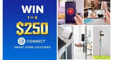 Win 1 of 4 $250 Connect Smart Home Prize Packs