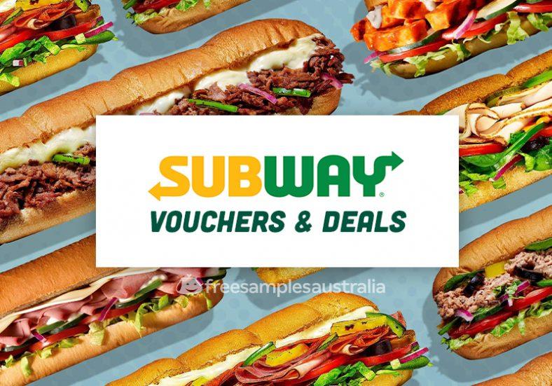 Subway vouchers deals