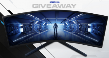 "Win a Samsung Odyssey G5 34"" 165Hz Curved Gaming Monitor"
