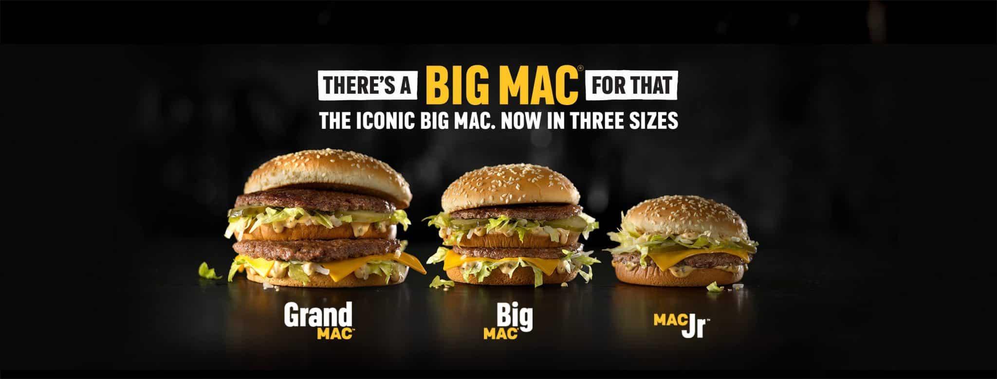 Small Big Mac Meal & Extra Cheeseburger