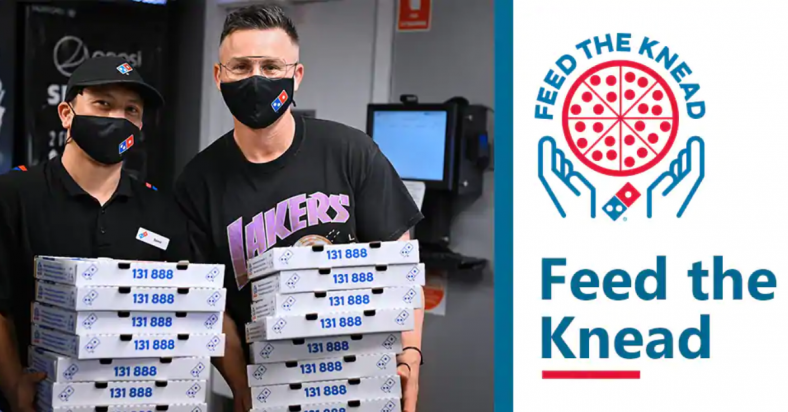 Free Hot Meals from Domino's Pizza to those in Need