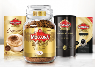 Free Moccona brand coffee to try & review