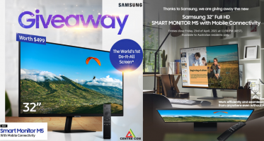 "Win a Samsung 32"" Full HD Smart Monitor M5 with Mobile Connectivity"