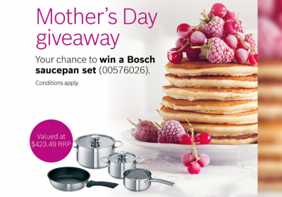 Win a Bosch saucepan set