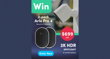 Win an Arlo Pro 4 Security Camera Twin Pack
