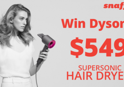Win a Dyson Supersonic Hair Dryer