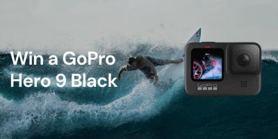Win a GoPro Hero9 Action Camera