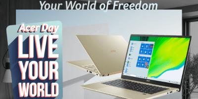 Win an Acer Swift 3x Laptop ($1,599)