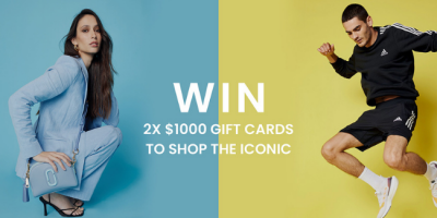Win 2x $1,000 Gift Cards from The Iconic