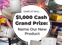 Win $1000 in cash
