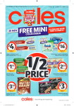 Coles Catalogue – July 17 to 23, 2019